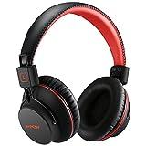 Bluetooth Kopfhörer Over Ear, Mpow Over Ear Kopfhörer mit leichtem Rückstellschaum Ohrpolster & Dual 40mm Treiber, 20 Stunden Spielzeit, Perfekt Bass, 3,5 mm AUX, On-Ear Steuerung