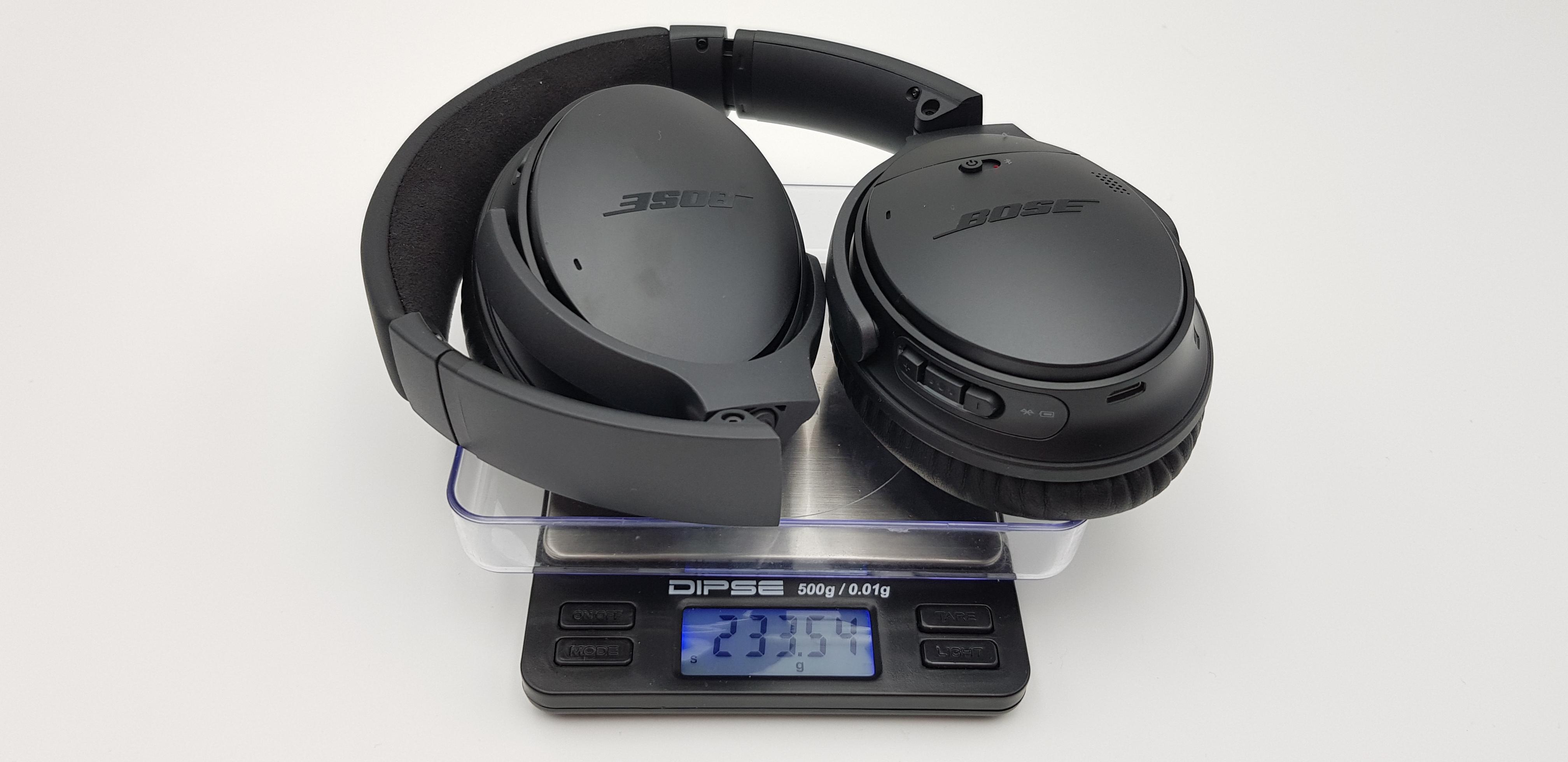 Bose QuietComfort 35 II Gewicht