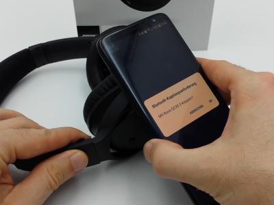 Bose QuietComfort 35 II NFC Verbindung aufbauen