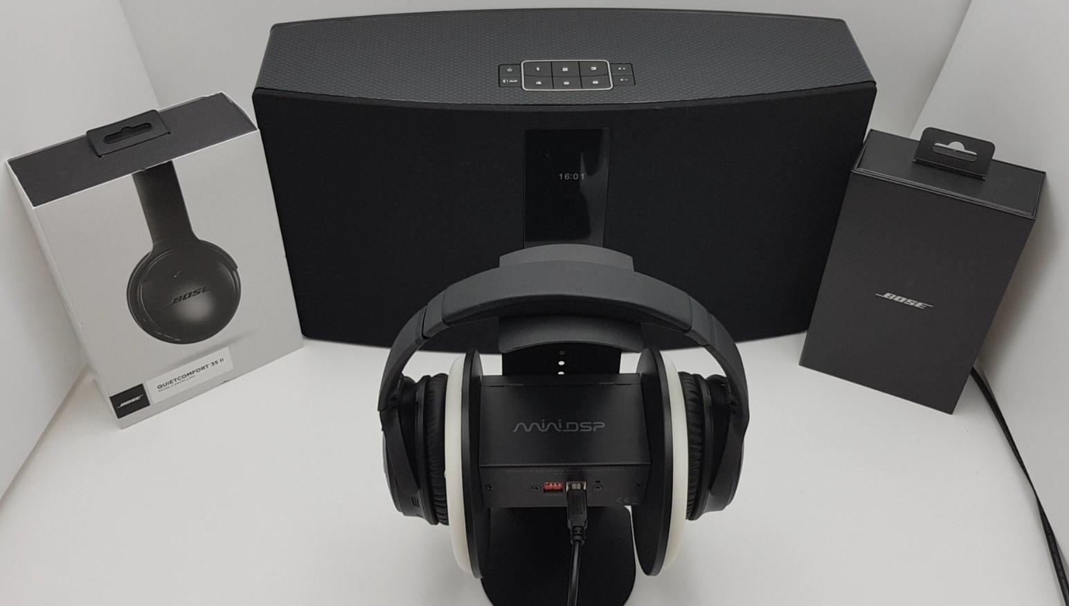 BoseQuietComfort 35 II Noise Cancelling Test