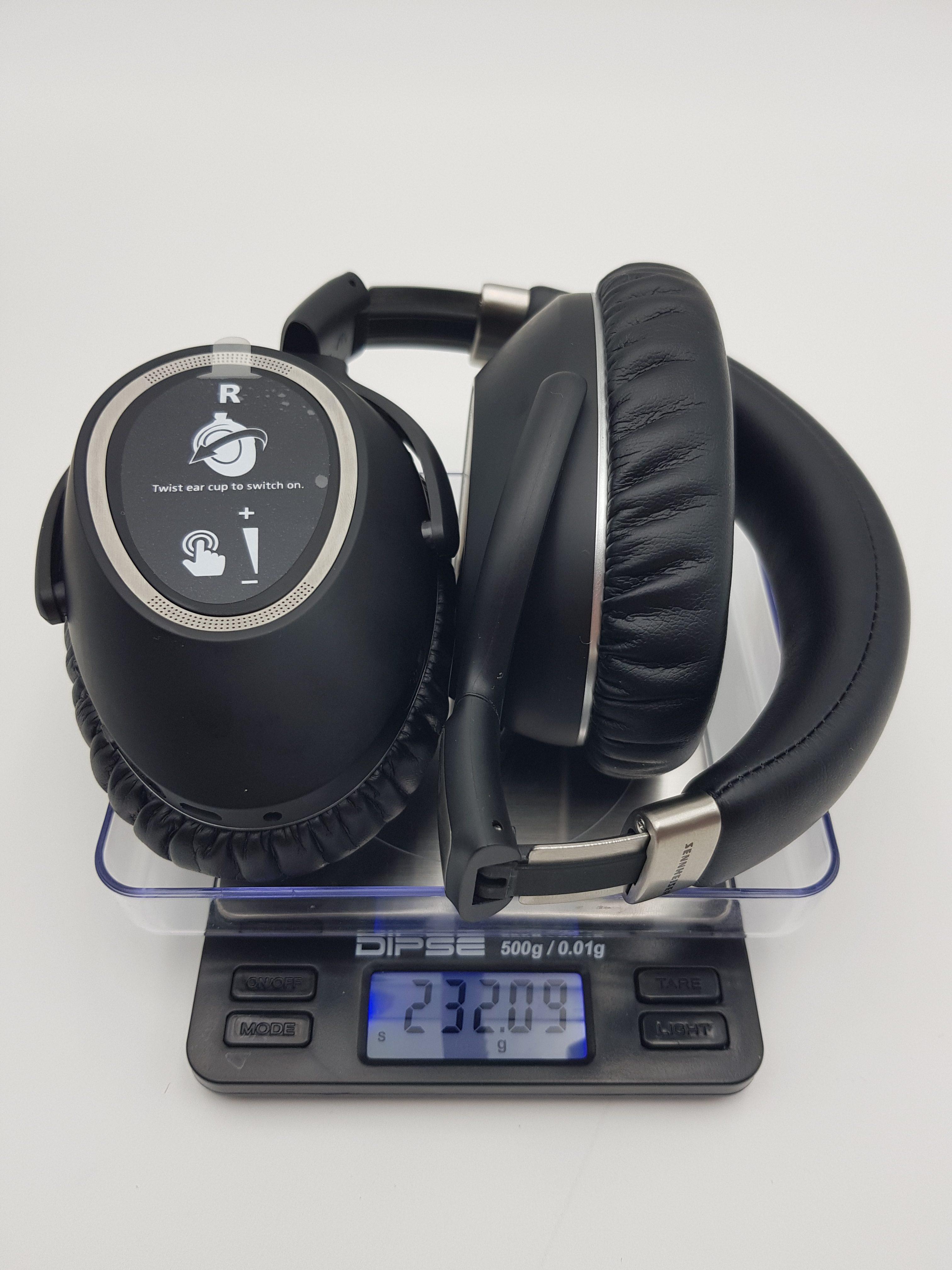 232 g wiegt der Sennheiser PXC 550