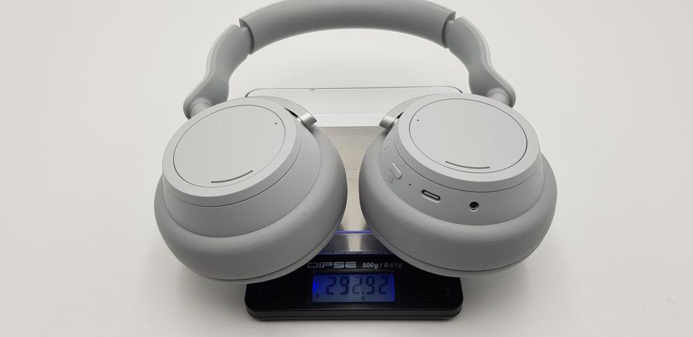 Microsoft Surface Headphones Gewicht