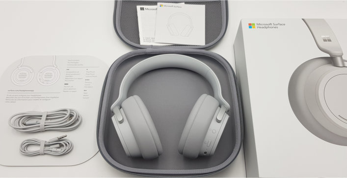 Microsoft Surface Headphones Lieferumfang 001