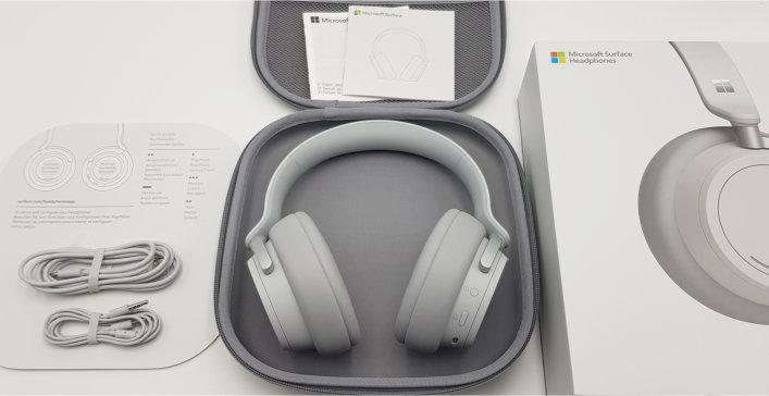 Microsoft Surface Headphones Lieferumfang 001