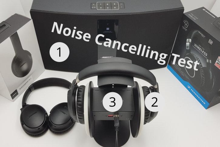 Noise Cancelling Kopfhörer Test