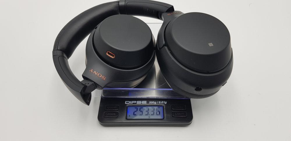 Sony WH-1000XM3 Gewicht